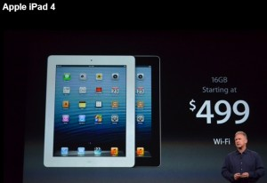 Performanta iOS- Apple iPad 4