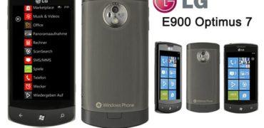 Review LG E 900 Optimus 7