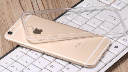 Detalii husa iPhone 7 dura Baseus Glitter Series transparenta