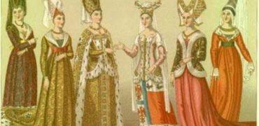 Ce purtau femeile in Evul Mediu?