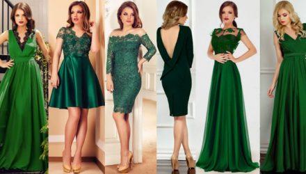 Cum se poarta o rochie verde?